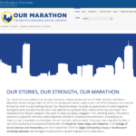 Our Marathon homepage